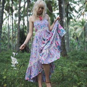 Spell & The Gypsy Lavender Babushka Dress Large